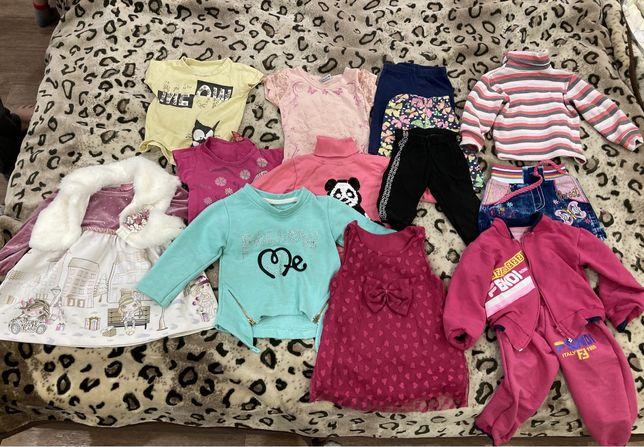 Одежда на девочку 1-2 года