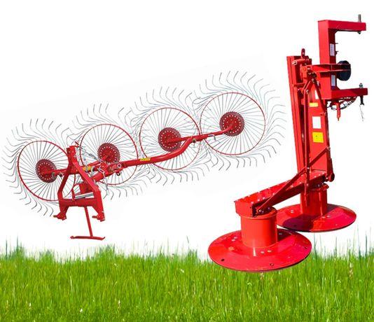 Косилка роторная Wirax Z-069 косарка роторна 1,35 - 1,65м на трактор