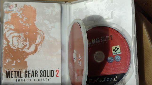 + Metal Gear Solid 2 Sons of Liberty + gra na PS2 wydanie specjalne