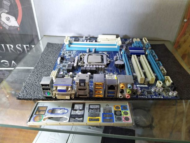 S1156 GIGABYTE GA-H57M-USB3 под xeon 3440 и т.д.