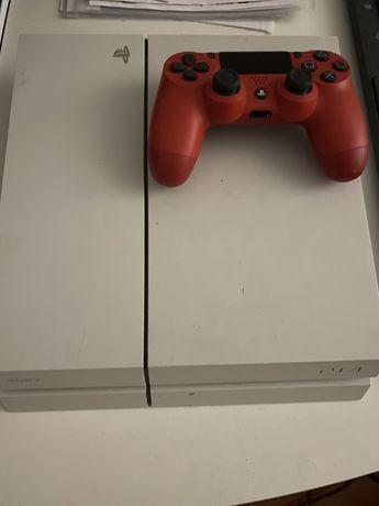 Playstation 4 (ps4) com um comando