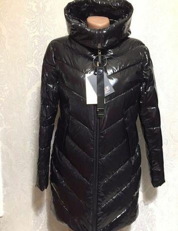 Пуховик куртка зима зимний виниловый