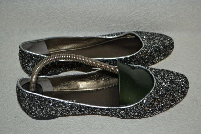 новые мерцающие туфли Nine west 24.5 см 38 размер США