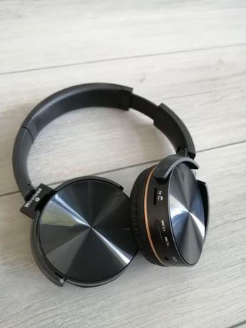 Nauszne Słuchawki Bezprzewodowe BLUETOOTH MIKROFON