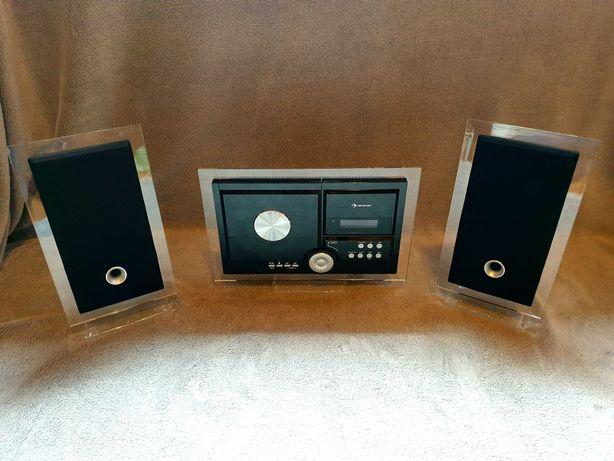 Mini wieża Stereo Sonic, DAB+, CD odtwarzacz, czarny