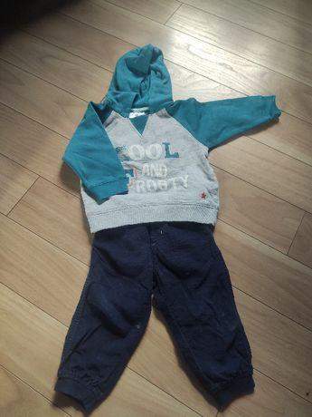 Bluzy i spodnie dla chłopca 80