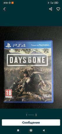 Days gone sony PlayStation 4.