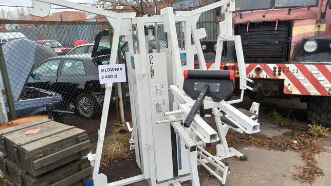 Atlas Olymp duży do ćwiczeń, siłownia, waga ok 800 kg