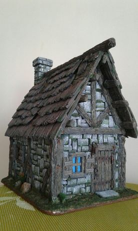Скандинавский домик. Диорама.