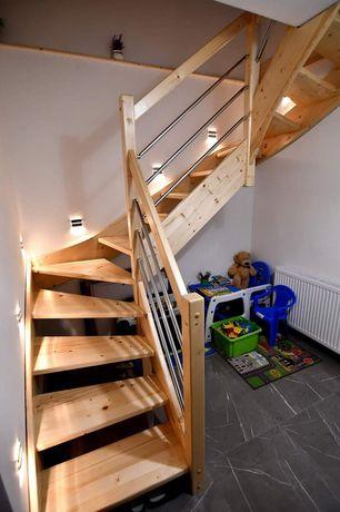 schody drewniane,domki szkieletowe, stolarstwo