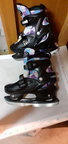 Łyżwy hokejowe chłopięce