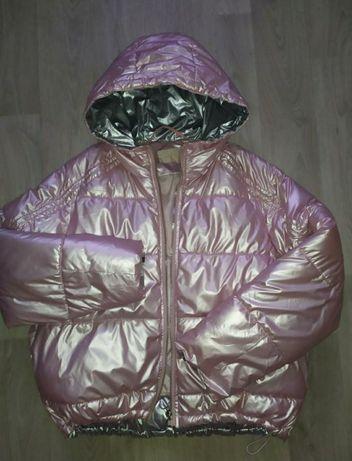 Куртка пуховик укороченный