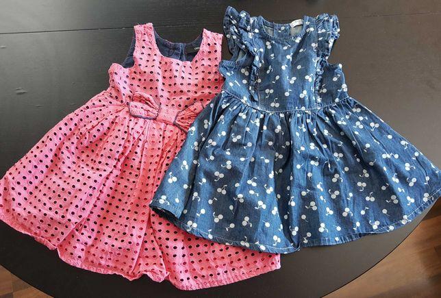 Zestaw dwóch sukienek