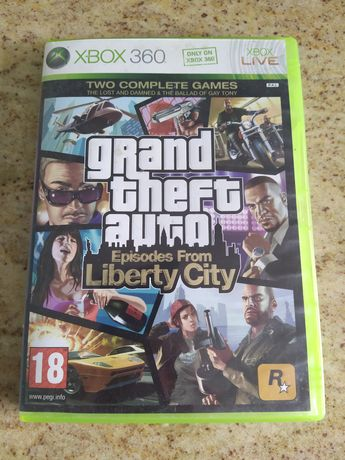 GTA grand theft auto episodes from Liberty City Xbox 360