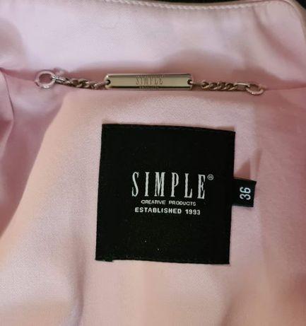 nowy_piękny wiosenny płaszcz_firmy SIMPLE