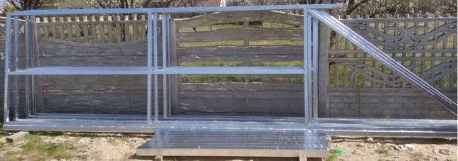 Wyprzedaż Brama przesuwna 1530x4000x6000 panelowa