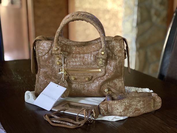 Кожаная сумка Balenciaga оригинал новая в наличии