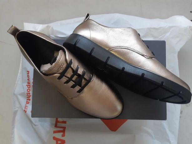 Туфли ECCO Bella, кожа, 36р, 23.5см. Оригинал.