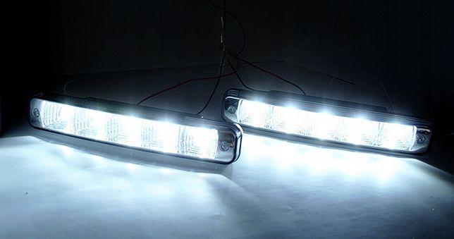 Światła prostokątne do jazdy DZIENNEJ LED HI-POWER - AUTOMAT