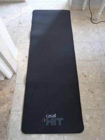 Tapete de ioga ou exercícios