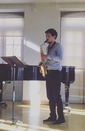Aulas de Saxofone / Saxofonista para Eventos