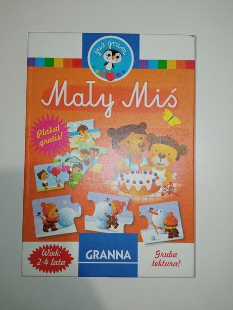 Puzzle edukacyjne Granna 2-4 lata