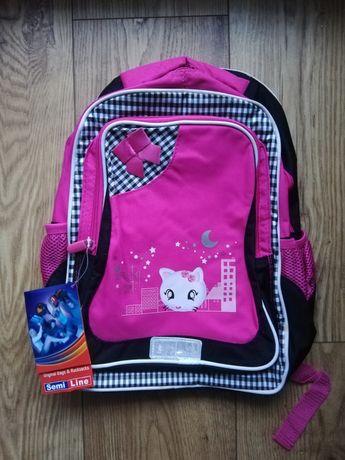 Plecak dla dziewczynki nowy