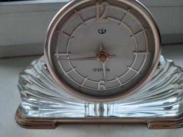MAJAK Zegar (kryształ) GOST 3309-58 Cl 2 na 7 kamieniach