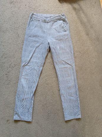 spodnie materiałowe mega elastyczne XL