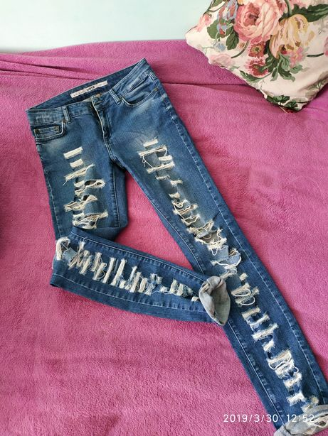 Високі стильні джинси!