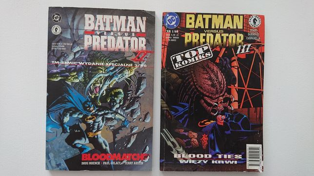 TM-SEMIC BATMAN vs Predator 2 i 3 Tanio