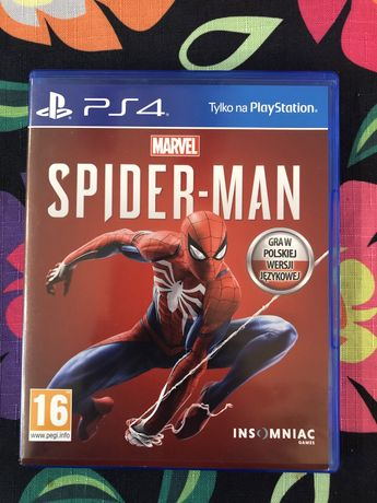 Gra Spider-Man Marvel na ps4