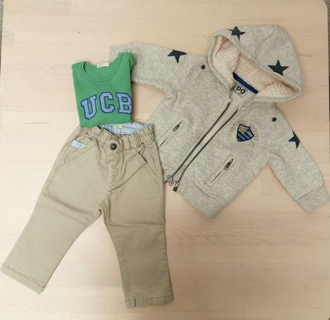 Conjunto roupa bebé