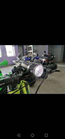 Światła do roweru LED komplet Nowe najlepsza jakość! Niemiecki TUV