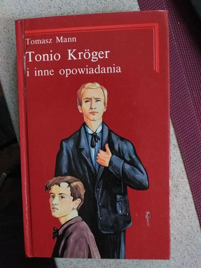 Tomasz Mann Tonio Kröger i inne opowiadania WDW 1992 Warszawa - image 1