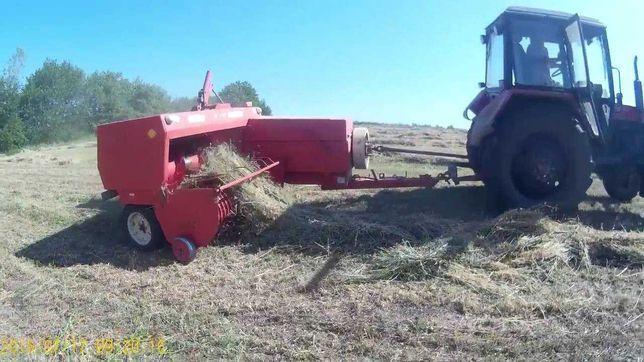 Услуги по заготовке сена, покос, прессование, перевозка