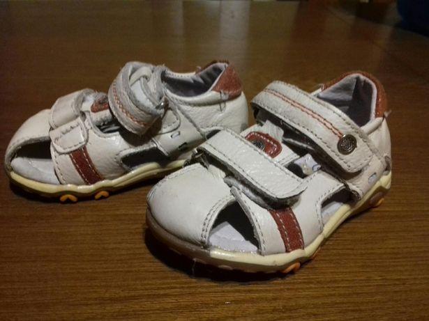 Sandalki pierwsze butki roz21skóra
