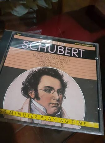 CD «The best of Schubert»