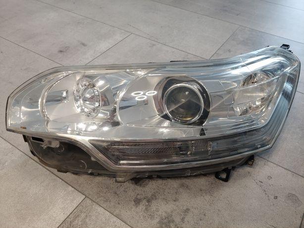Lampa/Reflektor Xenon, Przód Lewy, Citroen C5 III X7, 08-10, Europa
