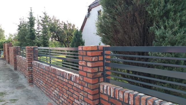 Ogrodzenie brama