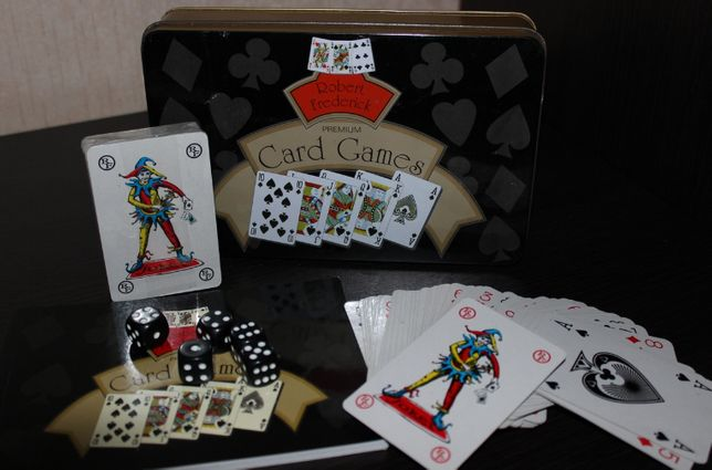 игра кости карты книга robert frederick premium card games как новая