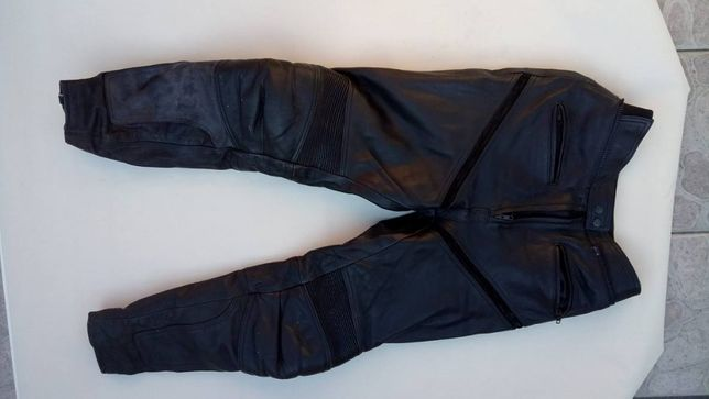 spodnie skórzane motocyklowe