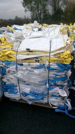 Worki Big Bag w rozmiarze 100/100/235cm stalilizacja kształtu Używany
