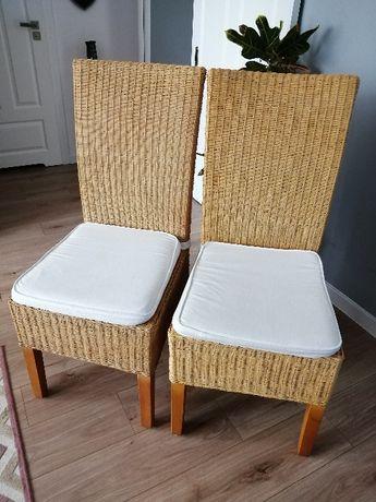 Krzesło ratanowe