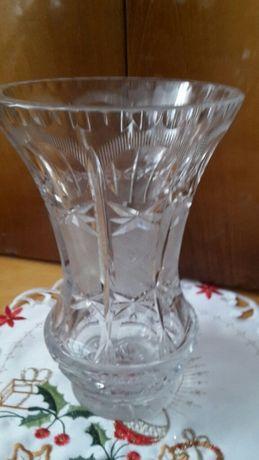 Wazon krysztalowy z prl