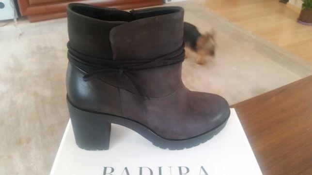 Женские ботинки Польской фирмы натуральная кожа badura  37размер
