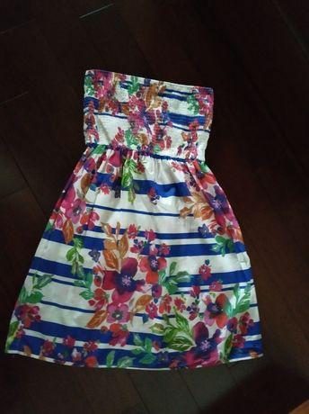 Sukienka w kwiaty Boho marki Atmosphere r L 40 jak Promod