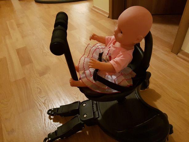 Dostawka do wózka z siedziskiem Moby-System