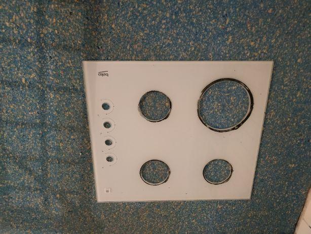 Szyba ceramiczna do płyty gazowej BEKO HISW64122SW, HILW64122SW