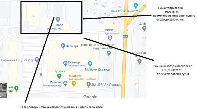 Аренда помещений возле ТЦ Экватор, СТО, Шиномонтаж, Автомагазин